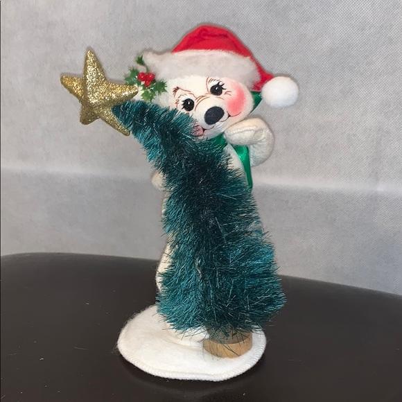 Annalee Christmas Bear